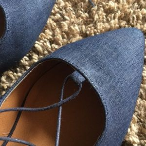 Mossimo Supply Co. Shoes - Lace Up Flats